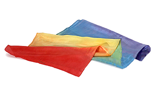 Healing Sheet Silk Rainbow Small